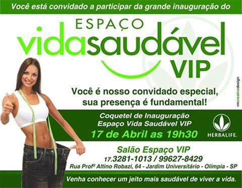 Convite Espaco Saudavel