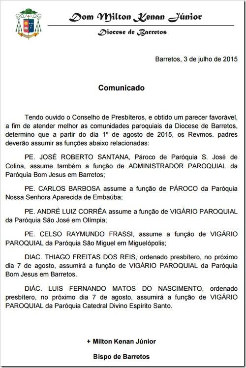 diocese-comunicado
